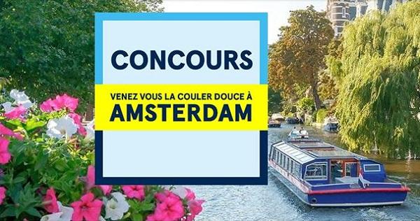 Concours Gagnez un voyage à Amsterdam!