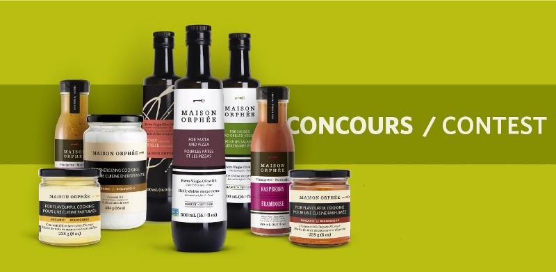 Concours Gagnez plusieurs lots instantanés et produits Maison Orphée!