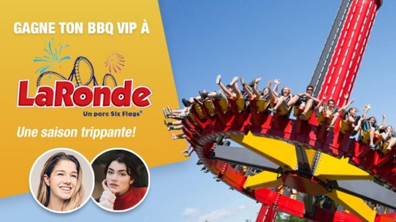 Concours Gagne ton BBQ VIP avec La Ronde!
