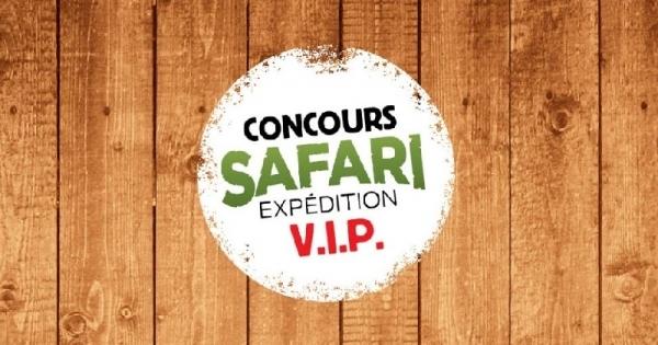 Concours Gagnez une aventure unique au Parc Safari!