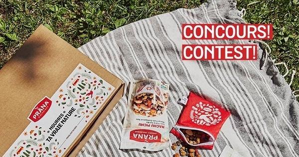 Concours Gagnez une boîtes Nourris ta vraie nature en édition limitée, ainsi qu'une carte-cadeau PRANA de 100$!