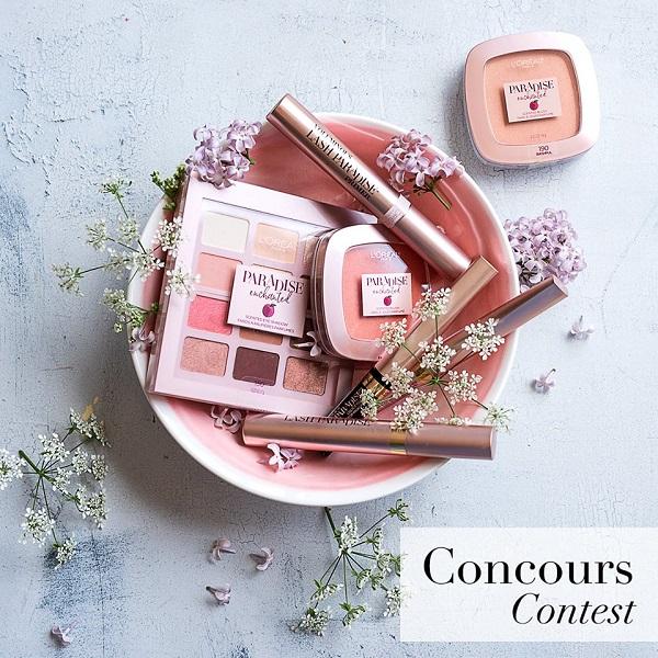 Concours Gagnez un panier-cadeau de la gamme Paradise Enchanted de L'Oréal Paris!