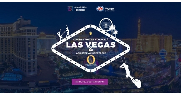 Concours Gagnez un voyage à Las Vegas!