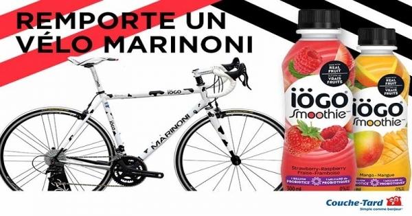 Concours Gagnez un vélo Marinoni d'une valeur de 2500$!