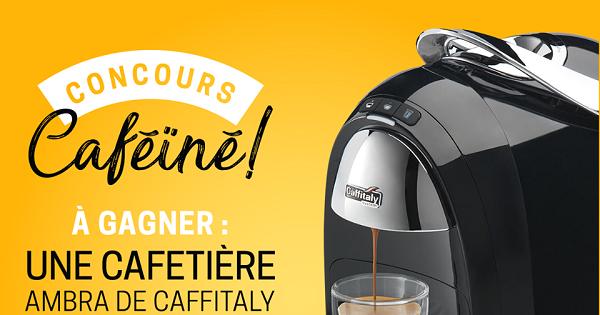 Concours Gagnez une cafetière Ambra de Caffitaly offerte par foodlavie!