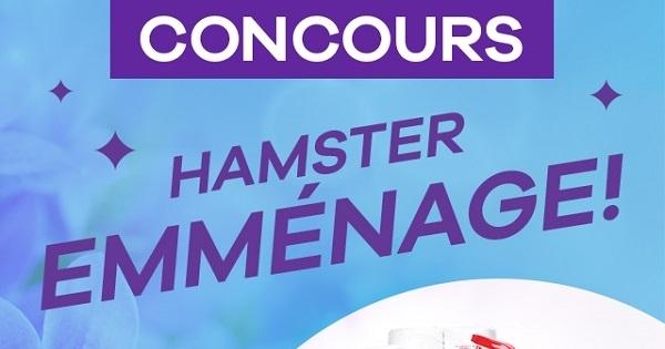 Concours Gagnez l'un de 100 ensembles de nettoyages Hamster!