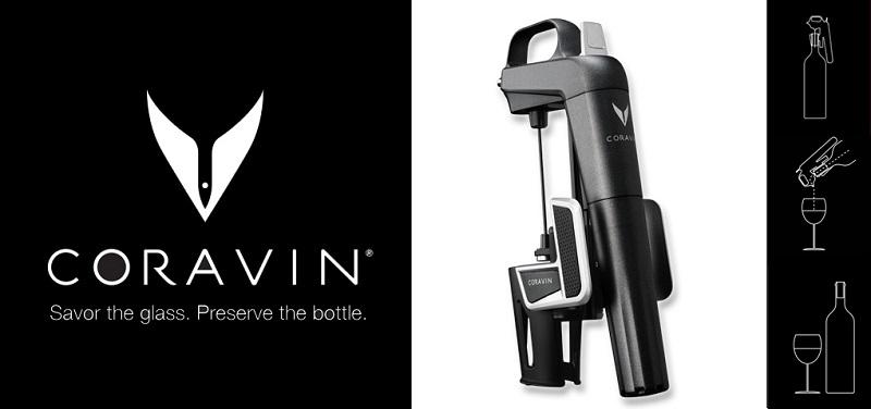 Concours Gagnez un appareil Coravin pour ouvrir du vin sans retirer le liège!