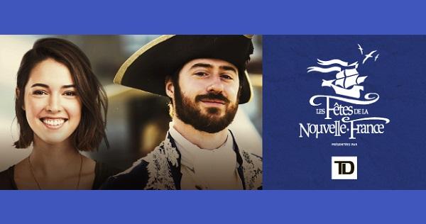 Concours Gagnez un forfait VIP pour deux personnes pour assister à la GRANDE FÊTE de la Nouvelle-France LE 1ER AOÛT!