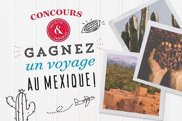 Concours Gagnez un voyage au Mexique d'une valeur de 3000$ pour 2 personnes!