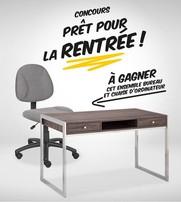 concours gagnez un ensemble bureau et chaise d 39 ordinateur concours en ligne qu bec. Black Bedroom Furniture Sets. Home Design Ideas