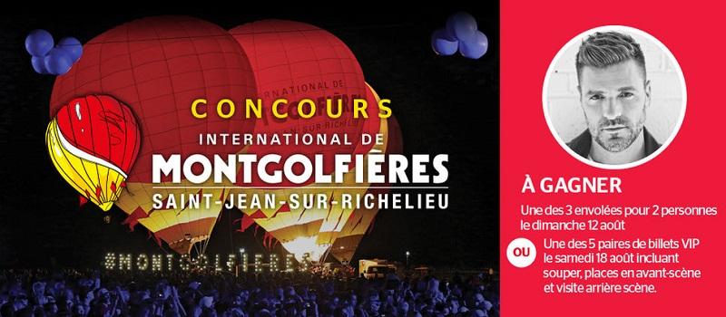 Concours International de montgolfières de Saint-Jean-sur-Richelieu!