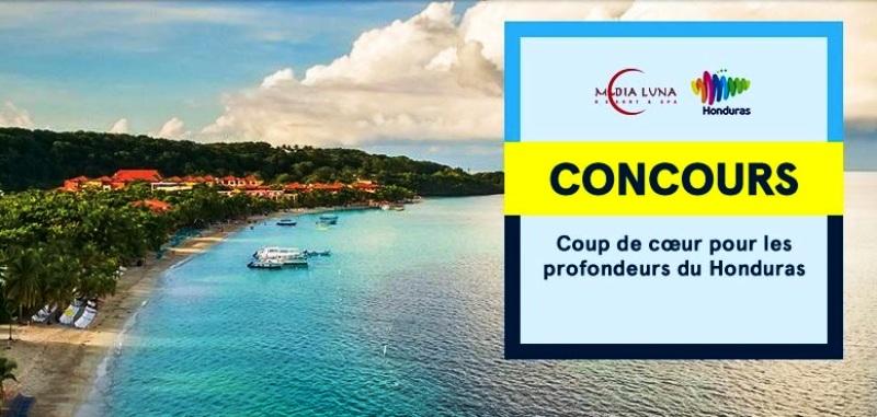 Concours Gagnez un voyage à Roatan au Honduras!
