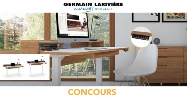 Concours Gagnez votre bureau de rêve avec Germain Larivière!