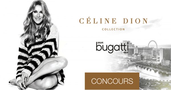 Concours Gagnez un voyage pour 2 personnes à Las Vegas pour assister à un spectacle de Céline Dion!