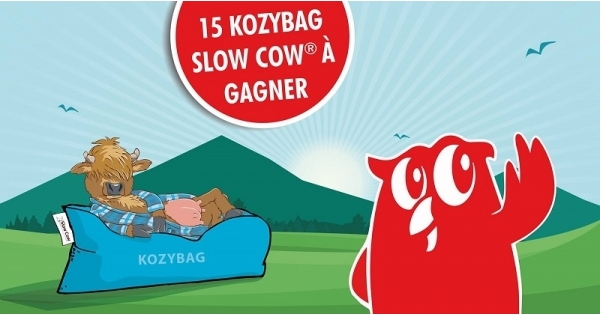 Concours Gagnez un des 15  Kozybag Slow Cow d'une valeur de 80$ chacun!