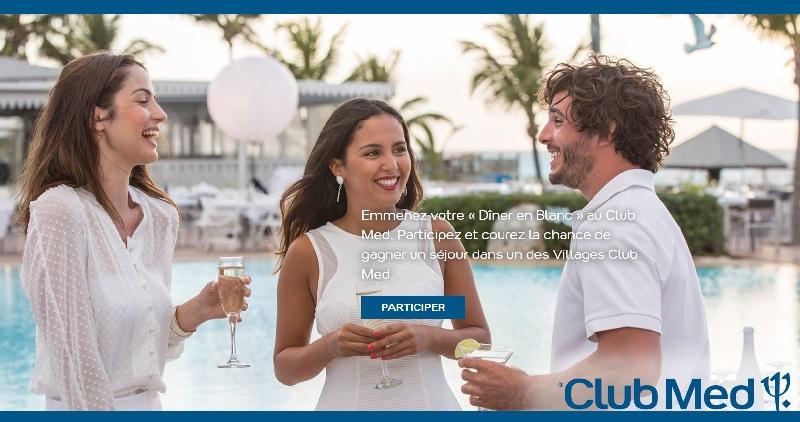 Concours Gagnez un séjour tout compris pour 2 personnes dans l'un des Villages Club Med!
