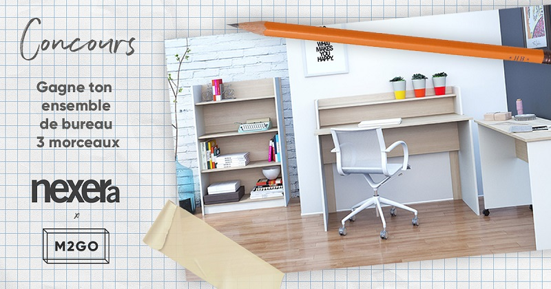 Concours gagnez votre mobilier de bureau nexera concours en ligne qu bec - Bureau des concours aphp ...