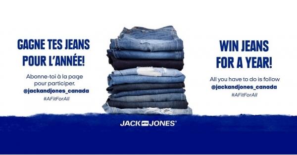 Concours Gagne tes jeans pour l'année!