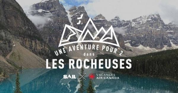 Concours Gagnez une aventure pour 2 dans les Rocheuses!