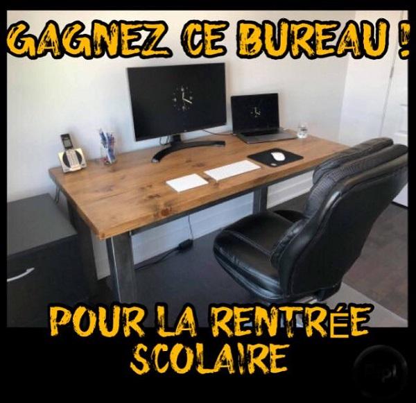 Concours gagnez ce bureau de travail de l atelier bleu de plume concours en ligne qu bec - Bureau des concours aphp ...