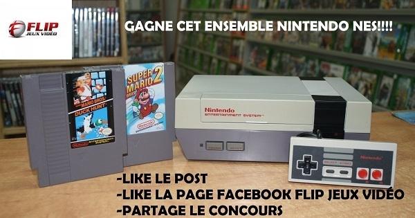 Concours Gagnez un ensemble Nintendo NES!