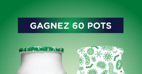 Concours Gagnez 60 pots de probiotiques Bio-K+!