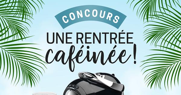 Concours Une rentrée Cafféinée avec Caffitaly Canada!