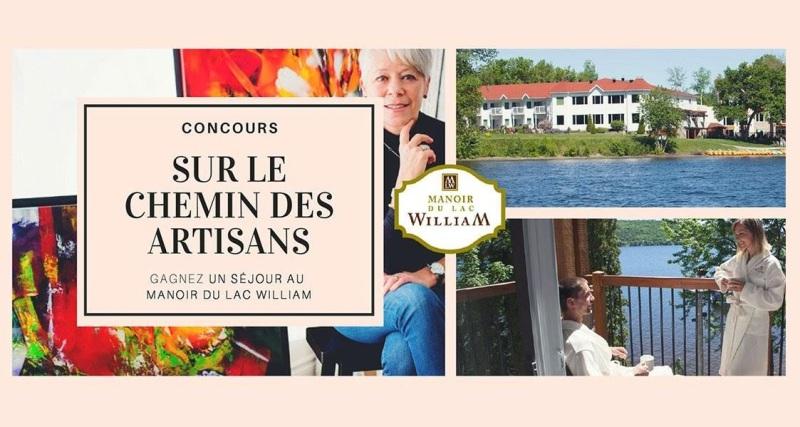 Concours Gagnez un séjour au Manoir du Lac William!