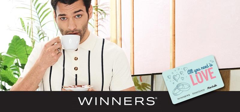 Concours Gagnez une carte cadeau de 200$ pour vous gâter chez WINNERS!
