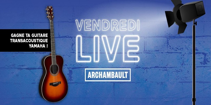 Concours Gagne ta guitare Yamaha grâce à ÉNERGIE & Archambault!