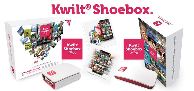 Concours Gagnez un Kwilt Shoebox pour accéder à vos photos de partout!