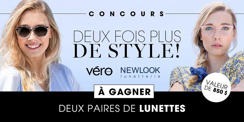 Concours DEUX FOIS PLUS DE STYLE AVEC NEW LOOK!