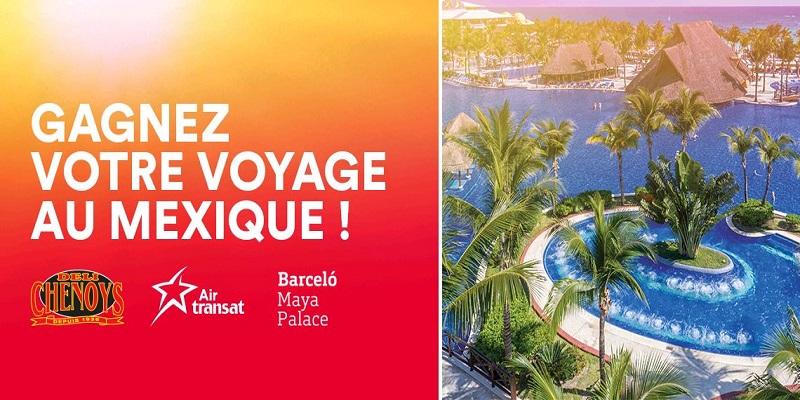 Concours Gagnez votre voyage au Mexique!