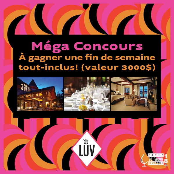 Concours Gagnez un weekend de luxe à l'hôtel QUINTESSENCE!