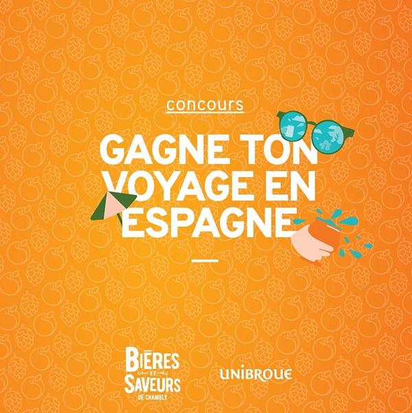 Concours Gagne ton voyage en Espagne!