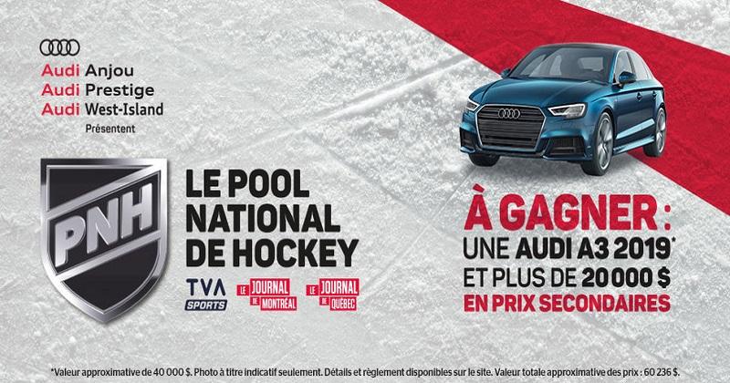 Concours Gagnez une Audi A3 2019 d'une valeur de 40 000$!