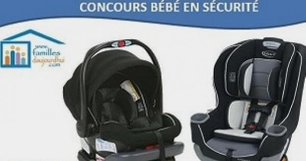 Concours Gagnez l'un des deux sièges d'auto pour bébé Graco!