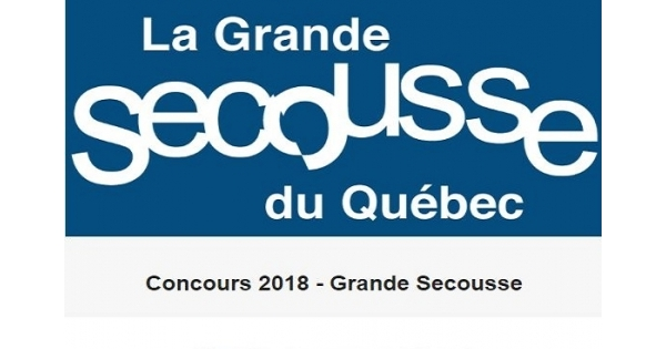 Concours La Grande Secousse 2018!