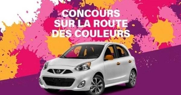 Concours Gagne ta voiture à Laurier Québec!