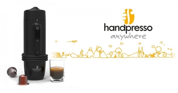 Concours Gagnez une machine espresso pour voiture grâce à Handpresso!
