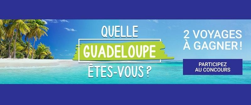 Concours Gagnez l'un des deux voyages en Guadeloupe!