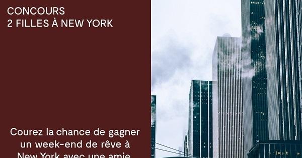 Concours DEUX FILLES À NEW YORK!