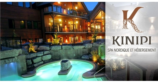 Concours Gagnez une expérience des plus relaxantes au Kinipi spa nordique et hébergement!