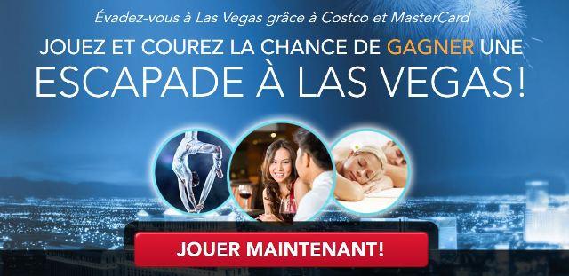 Concours Évadez-vous à Las Vegas grâce à Costco et MasterCard