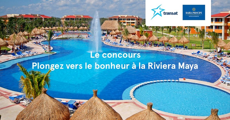 Concours Plongez vers le bonheur à la Riviera Maya!