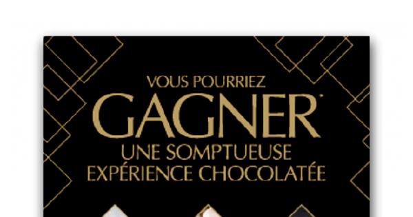 Concours Gagnez une somptueuse expérience chocolatée!