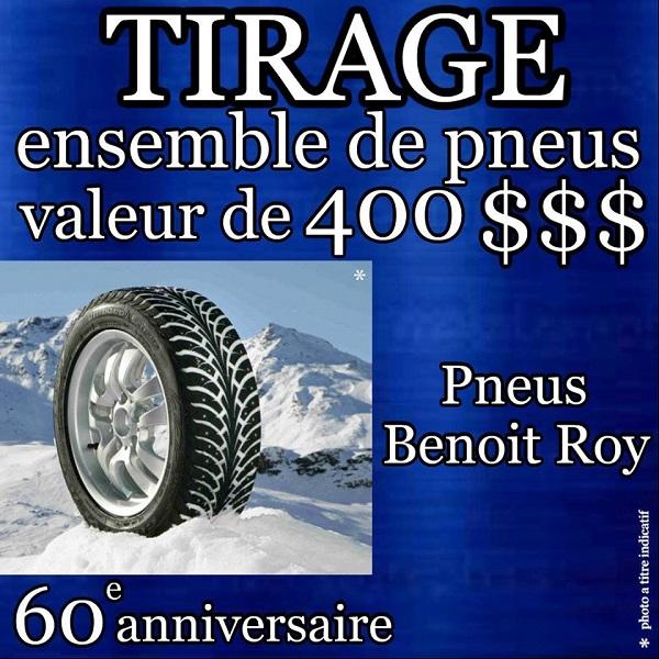 concours gagnez un ensemble de pneus offert par pneus benoit roy concours en ligne qu bec. Black Bedroom Furniture Sets. Home Design Ideas