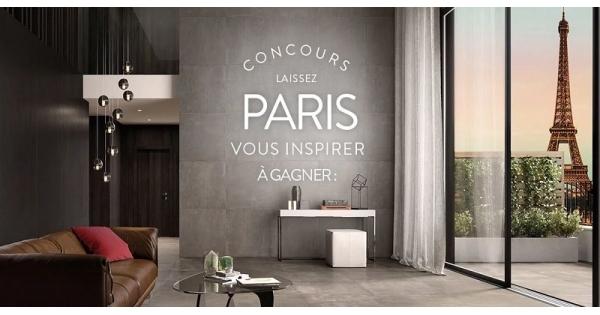 Concours Gagnez un voyage pour 2 à Paris!