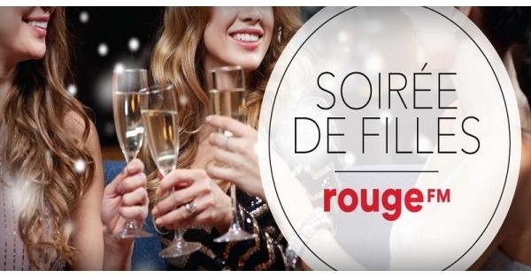 Concours Gagnez un crédit-voyage de 5000$ à la soirée de filles Rouge FM!