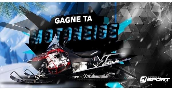 Concours Gagne ta motoneige Polaris d'une valeur de 12 000 $!
